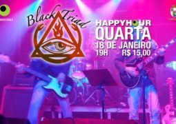 """Black Triad: banda se apresenta nessa quarta em evento organizado pela rádio """"Putzgrila"""""""
