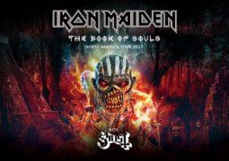 Iron Maiden: divulgados datas e locais da turnê na América do Norte