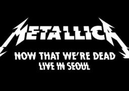 """Metallica: confira vídeo profissional de """"Now That We're Dead"""" ao vivo"""