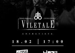 Viletale: concede entrevista ao vivo ao programa A Voz do Rock