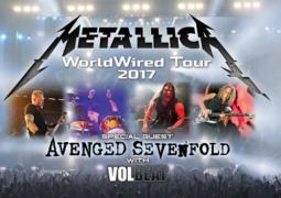 Metallica: anunciada turnê norte-americana junto ao Avenged Sevenfold