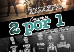 Roadie Metal: programa entrevista neste sábado as bandas Krucipha e Burnkill