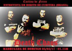 Death Chaos: banda concede entrevista ao vivo a programa de Portugal