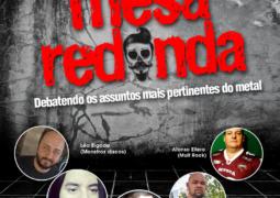 """Roadie Metal apresenta programa """"Mesa Redonda"""" com assuntos polêmicos"""