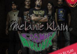 """Roadie Metal promove primeiro evento com as bandas """"Melanie Klain"""" e """"Cosmic Drunk"""" na cidade de Goiânia"""