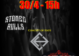 Stoned Bulls e Concept Of Hate confirmados no Sunday Hate Fest