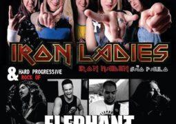 Elephant Casino: banda se apresenta dia 22 de abril ao lado da Iron Ladies