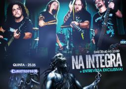 Claustrofobia: banda anuncia sua nova assessoria de imprensa e entrevista ao vivo na próxima quinta dia 25 de maio