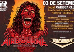 Airbourne no Brasil terá abertura do Baranga