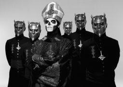 """Ghost: """"De uma forma esmagadora, os fãs do Iron Maiden nos aceitaram"""""""