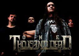 """One Thousand Dead: banda é uma das atrações do """"1º Festival de Rock Cultural"""" na cidade de Ourinhos/SP que acorre entre os dias 01, 02 e 03 de setembro"""