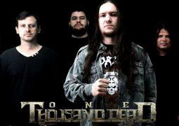 """One Thousand Dead: banda é uma das principais atrações do """"Plis Rock Festival"""" de 2017"""
