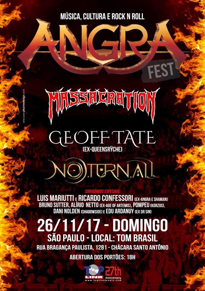 """Angra Fest: """"Sonho antigo do Angra este festival"""""""
