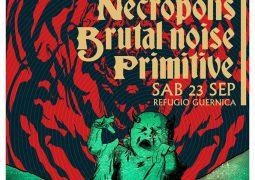 Necropolís; Show para divulgar novo E.P em Cordova