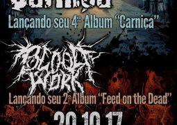Carniça: show de lançamento do novo álbum acontece no mês de outubro
