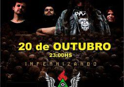 """One Thousand Dead: banda é uma das atrações do festival """"The Undergorund"""" nesse sábado em Bauru/SP"""