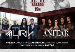 Anfear e Valiria promovem evento dia 11 de novembro e lançam vídeo convidando você para comparecer ao evento