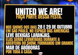 Helloween: Fãs preparam surpresa para os shows em São Paulo