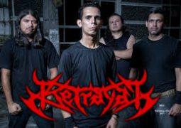 Betrayal: lançando primeiro álbum da banda