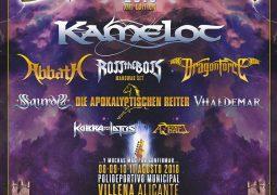 Festival Espanhol Leyendas del Rock começa á anunciar as atrações para 2018