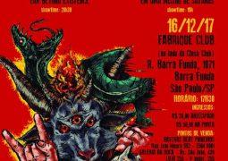 """Torture Squad: Show de lançamento de """"Far Beyond Existence"""" em São Paulo com Zumbis do Espaço."""