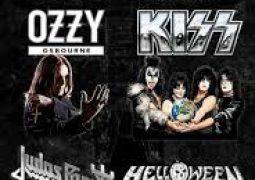 Ozzy Osbourne e Kiss,  Bandas se juntam ao Judas Priest no cast do Rock Fest Barcelona