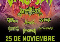 Dekapited; Chilenos se apresentam ao lado do Violator no próximo sábado