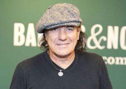 AC/DC: Brian Johnson presta homenagem a Malcolm Young