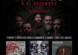 Abraxas faz promoção relâmpago para o show do Neurosis em São Paulo
