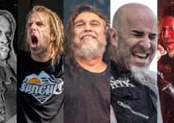 Slayer, Lamb of God, Anthrax, Testament e Behemoth estão confirmados no Massive Summer Tour