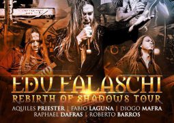 "Edu Falaschi: divulga novas datas da ""Rebirth of Shadows Tour"""