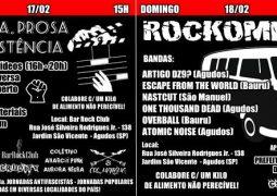 """One Thousand Dead: banda é uma das atrações do festival cultural """"Cinema, Prosa $ Resistência + Rockombi"""" na cidade de Agudos/SP"""