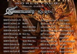 Sanctuary: banda anuncia turnê americana com o Iced Earth