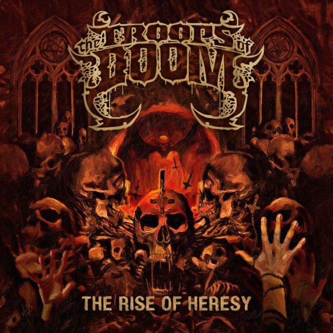 Resenha: The Troops Of Doom - The Rise Of Heresy (EP, 2020) - Roadie Metal