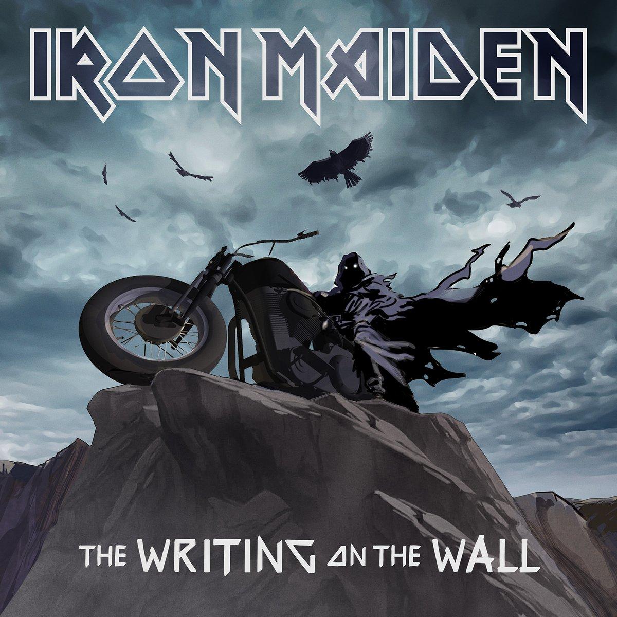 """Iron Maiden: conheça o conceito lírico da nova canção """"The writing on the  wall"""" - Roadie Metal"""