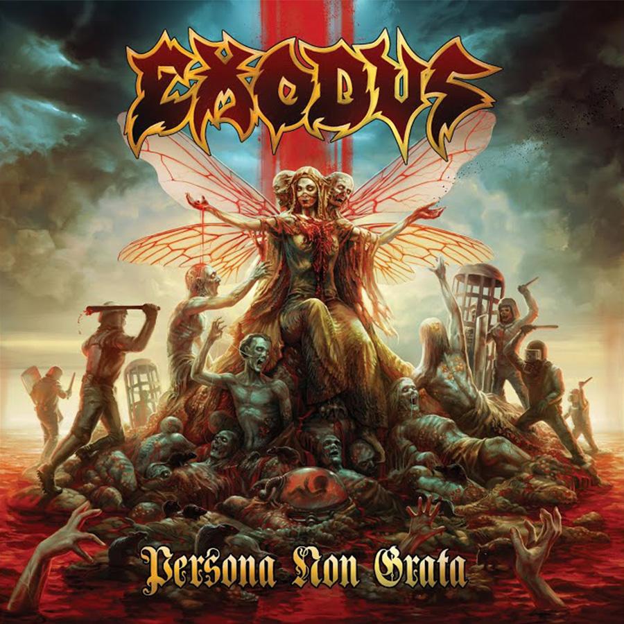Exodus divulga informações de novo álbum e lança single inédito